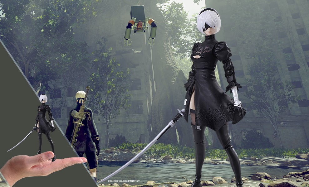 Gallery Feature Image of 2B YoRHa No 2 Type B 2.0 Collectible Figure - Click to open image gallery