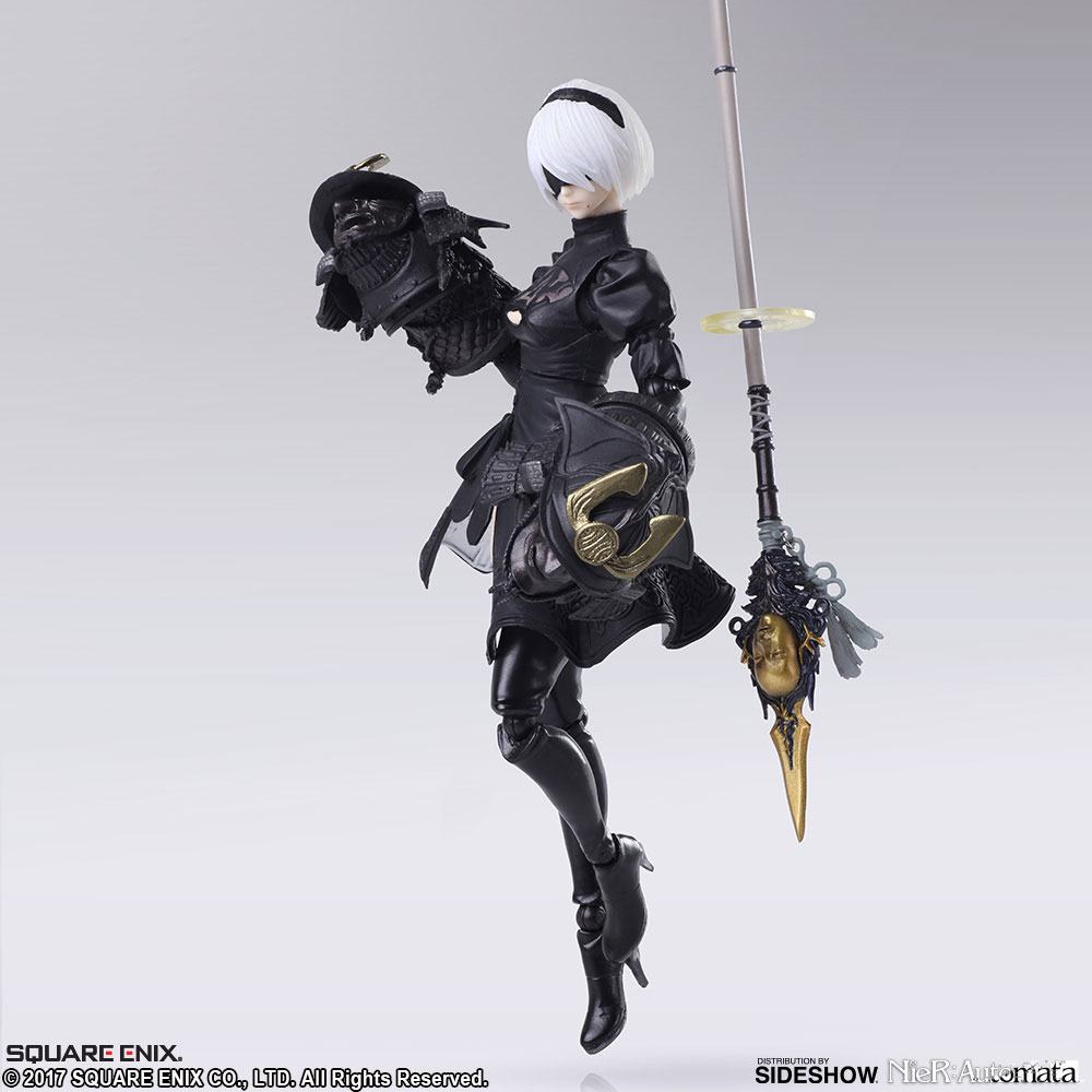 Premise Indicator Words: Bring Arts YoRHa No.2 Type B Figure By Square Enix