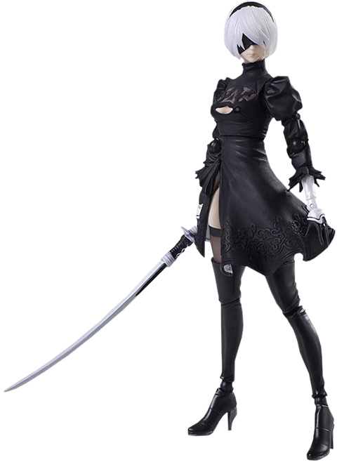 Square Enix 2B YoRHa No 2 Type B 2.0 Collectible Figure