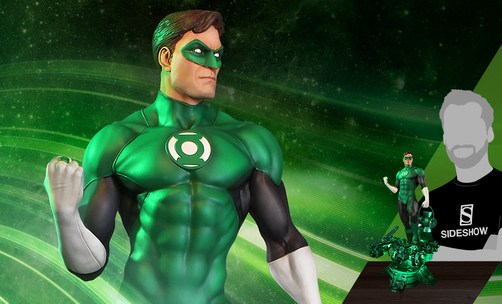 Gallery Feature Image of Green Lantern Maquette - Click to open image gallery