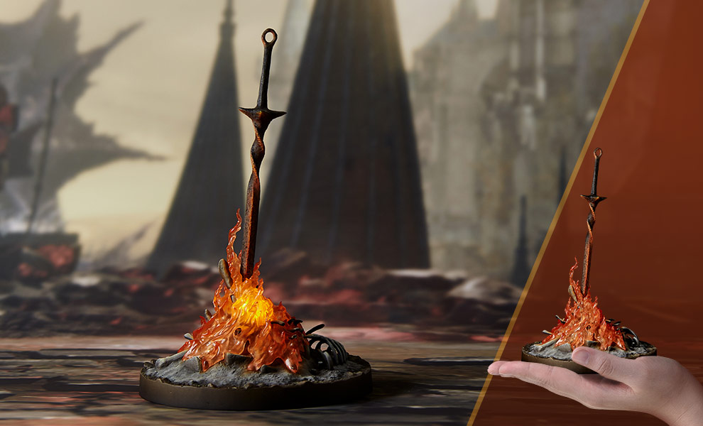 Gallery Feature Image of Bonfire Light-Up Statue - Click to open image gallery