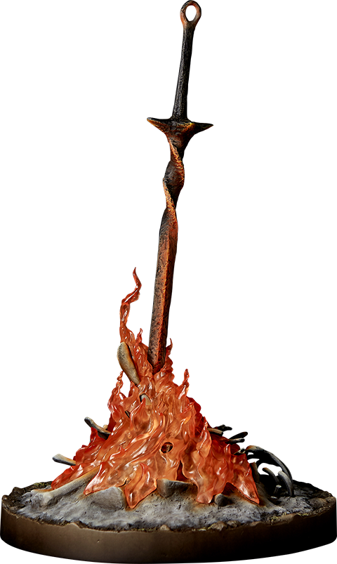 Dark Souls Bonfire Light-Up Statue by Gecco Co