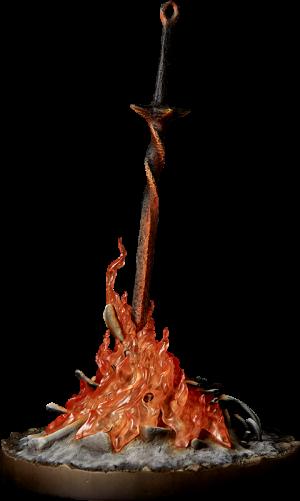 Bonfire Light-Up Statue
