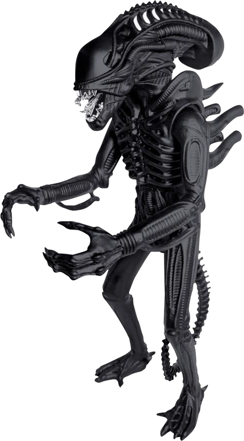 Super 7 Xenomorph Matte Black 18in Figure