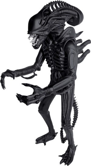 Xenomorph Matte Black 18in Figure