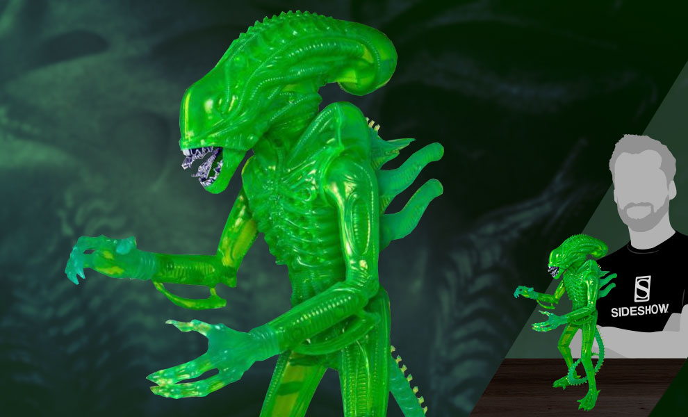 Gallery Feature Image of Xenomorph Acid Blood Green 18in Figure - Click to open image gallery