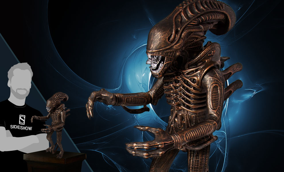 """Gallery Feature Image of Xenomorph Bronze 18"""" Figure - Click to open image gallery"""