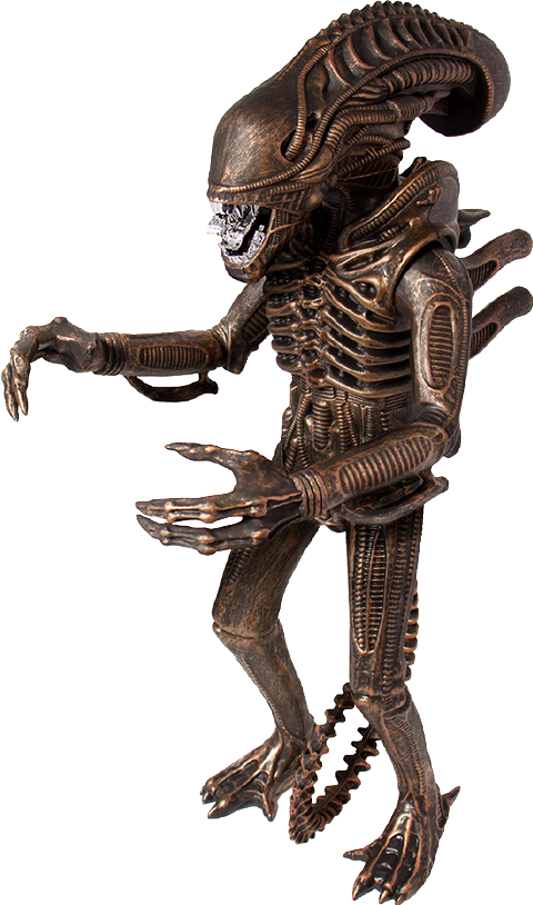 "Super 7 Xenomorph Bronze 18"" Figure"