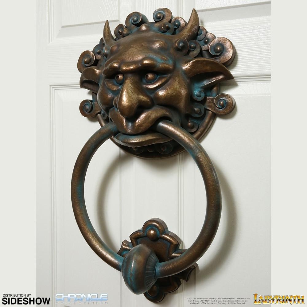 Genial Labyrinth Door Knocker Set   Prototype Shown