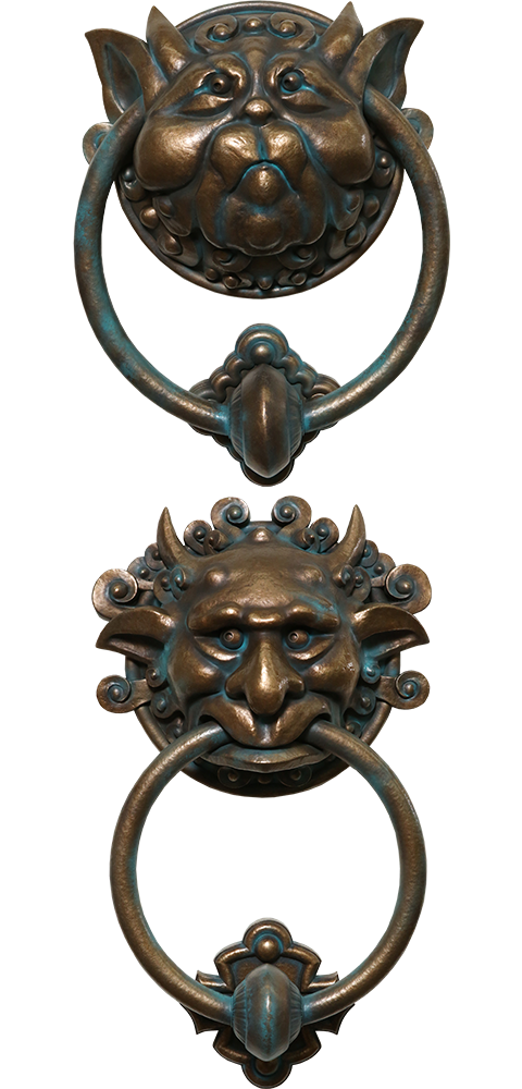 Chronicle Collectibles Labyrinth Door Knocker Set Scaled Replica