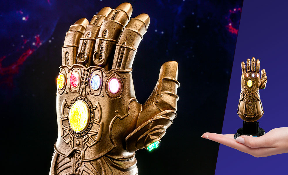 Gallery Feature Image of Infinity Gauntlet Quarter Scale Figure - Click to open image gallery