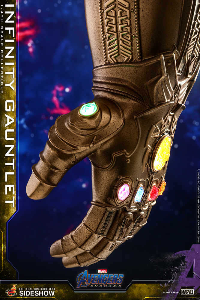 Marvel Infinity Gauntlet Quarter Scale Figure by Hot Toys