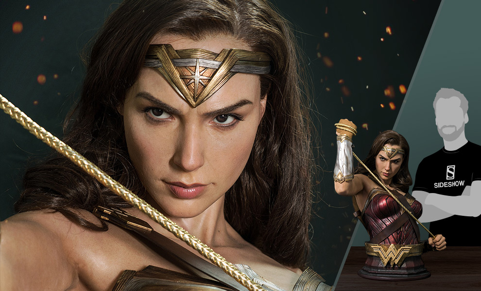 Gallery Feature Image of Wonder Woman Life-Size Bust - Click to open image gallery