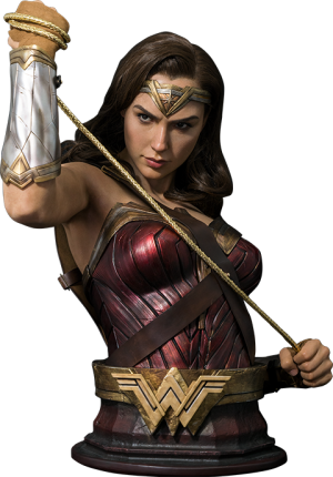 Wonder Woman Life-Size Bust