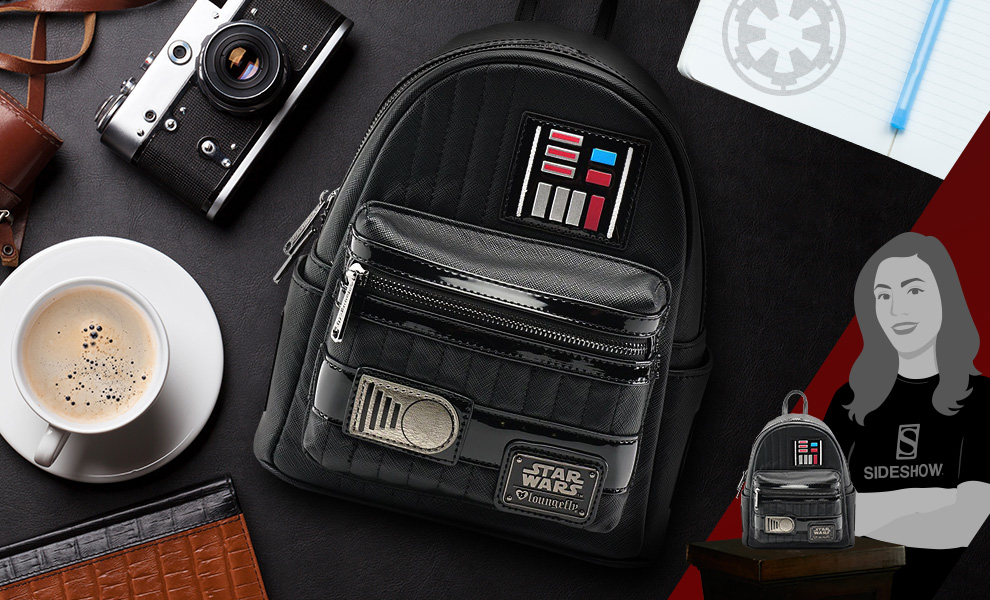 Gallery Feature Image of Darth Vader Cosplay Mini Backpack Apparel - Click to open image gallery