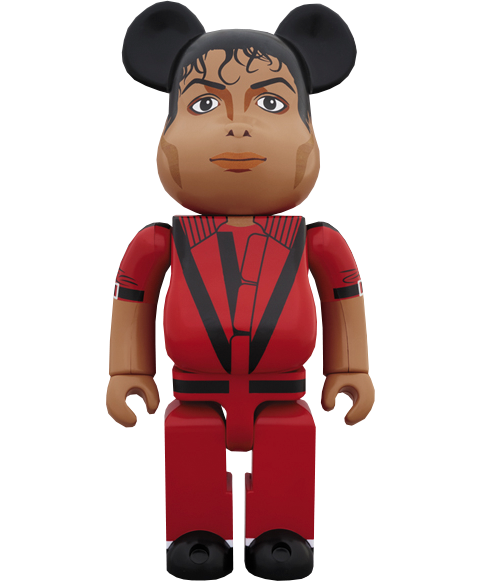 Medicom Toy Be@rbrick Michael Jackson Red Jacket 1000% Figure