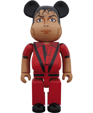 Be@rbrick Michael Jackson Red Jacket 1000% Figure