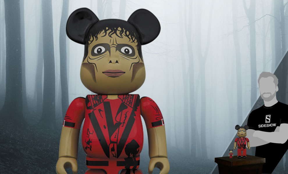 Gallery Feature Image of Be@rbrick Michael Jackson Zombie 100% and 400% Collectible Set - Click to open image gallery