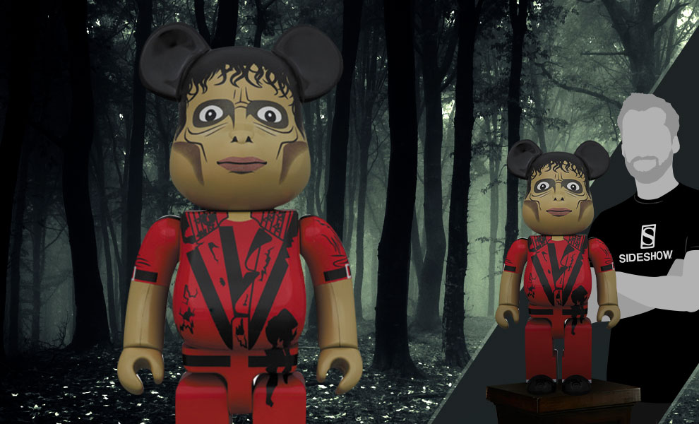 Gallery Feature Image of Be@rbrick Michael Jackson Zombie 1000% Figure - Click to open image gallery