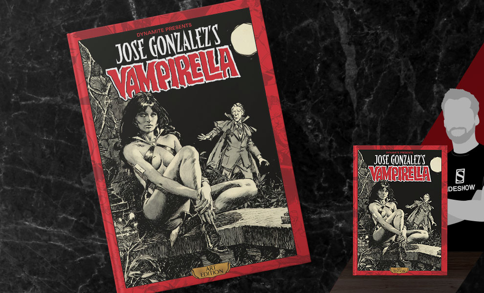 Gallery Feature Image of Jose Gonzalez Vampirella Art Edition Book - Click to open image gallery