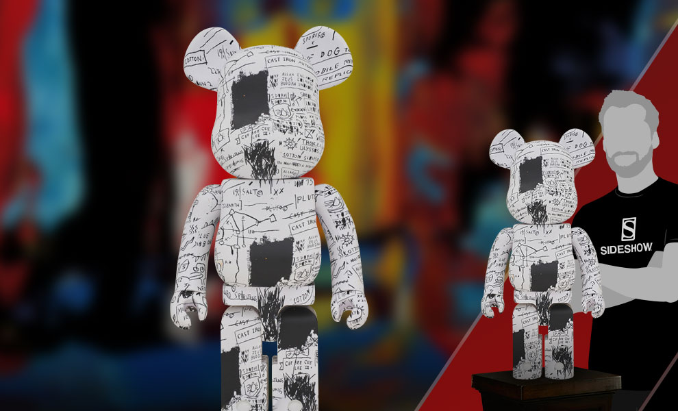 Gallery Feature Image of Be@rbrick Jean-Michel Basquiat #3 1000% Figure - Click to open image gallery
