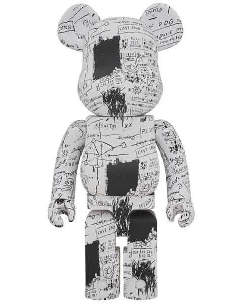 Medicom Toy Be@rbrick Jean-Michel Basquiat #3 1000% Figure