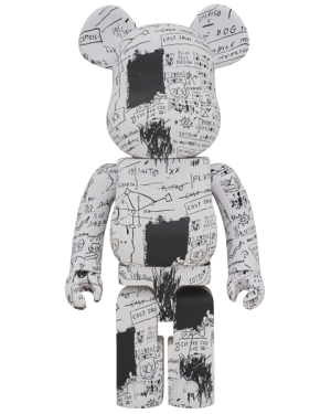 Be@rbrick Jean-Michel Basquiat #3 1000% Figure