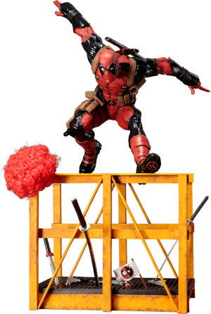 Super Deadpool Statue