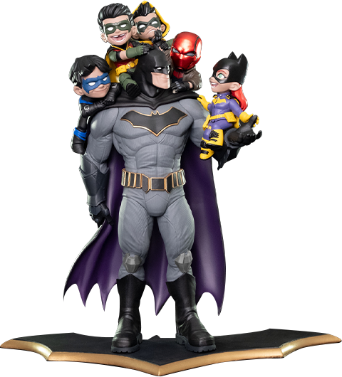 "Quantum Mechanix Batman ""Family"" Q-Master Diorama"