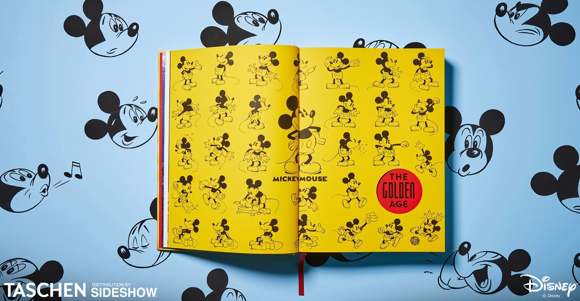 126c581e8 TASCHEN's Walt Disney's Mickey Mouse: The Ultimate History Hardcover ...