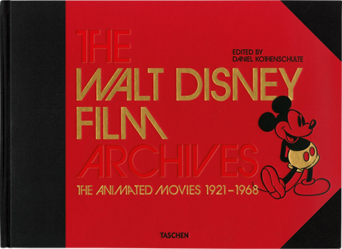 TASCHEN The Walt Disney Film Archives XXL: The Animated Movies 1921 - 1968 Book