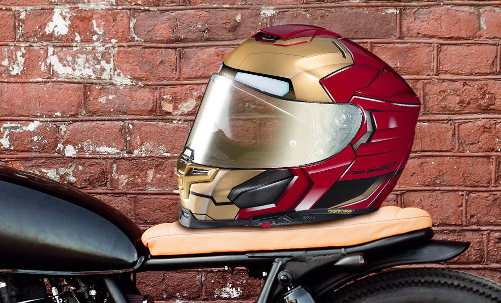 Gallery Feature Image of Iron Man HJC RPHA 70 ST Helmet - Click to open image gallery