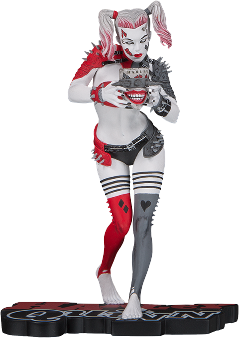DC Collectibles Metal Harley Quinn Statue