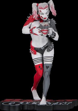 Metal Harley Quinn Statue