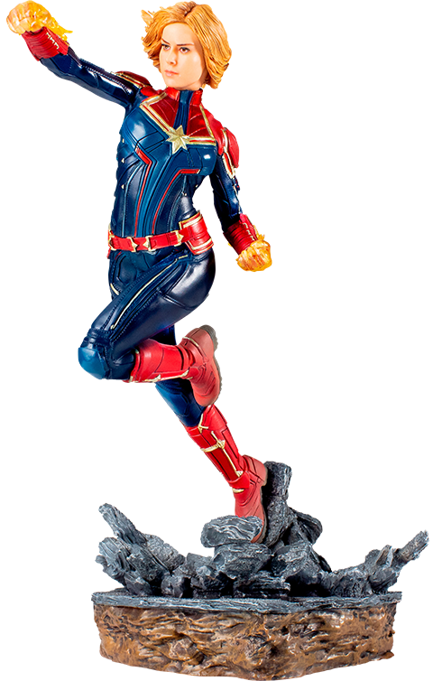 Iron Studios Captain Marvel Statue