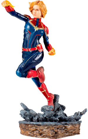 Captain Marvel 1:10 Scale Statue