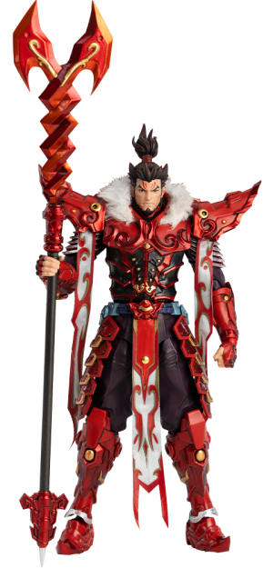 Zhang Fei Collectible Figure