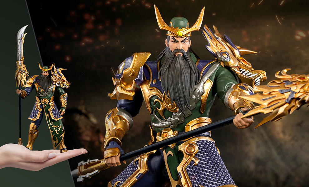 Gallery Feature Image of Guan Yu Collectible Figure - Click to open image gallery