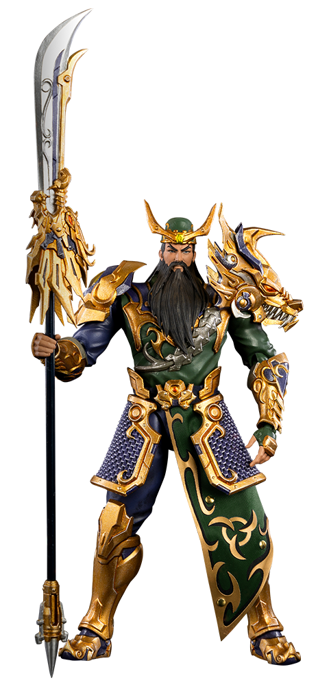 Threezero Guan Yu Collectible Figure