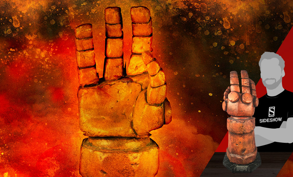 Gallery Feature Image of Hellboy Right Hand of Doom Prop Replica - Click to open image gallery