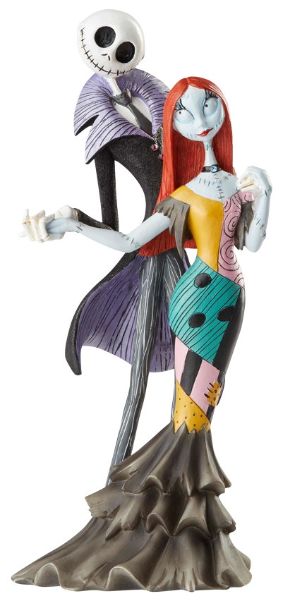 Enesco, LLC Jack and Sally Deluxe Figure