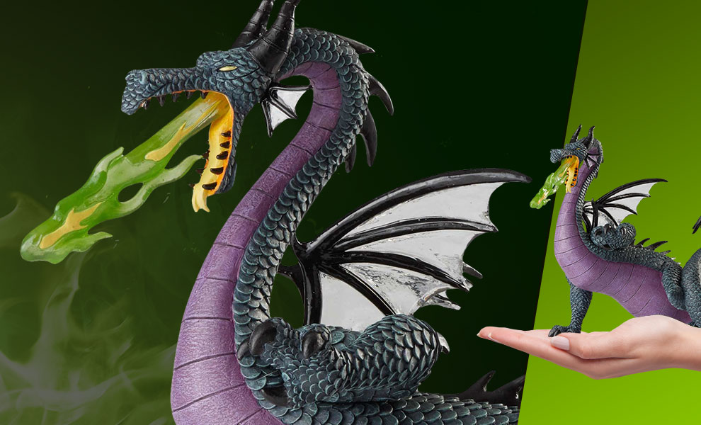 Gallery Feature Image of Maleficent Dragon Figurine - Click to open image gallery