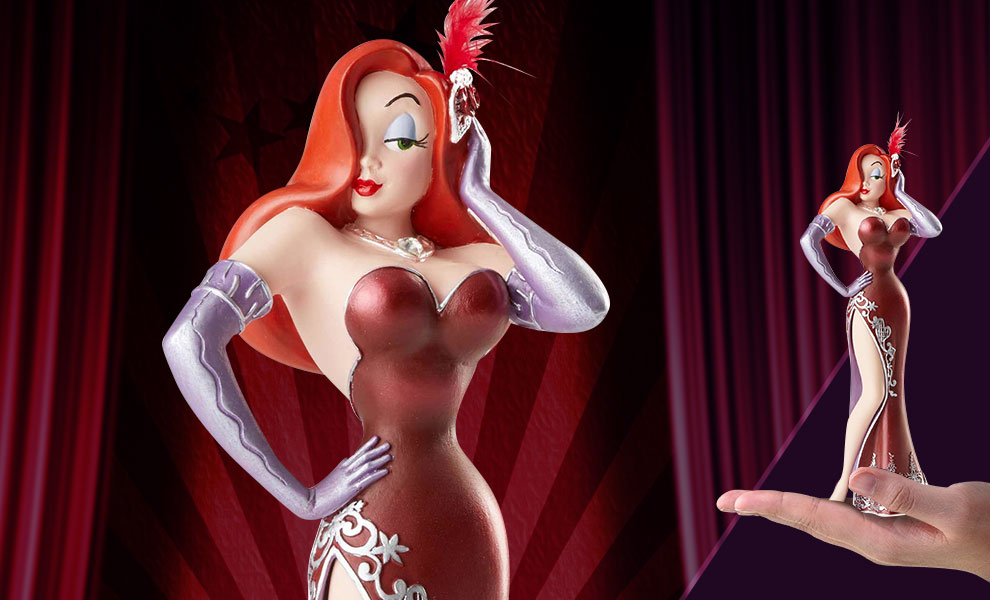Gallery Feature Image of Jessica Rabbit Figurine - Click to open image gallery