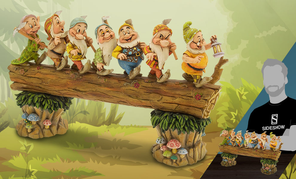 Gallery Feature Image of Seven Dwarfs Masterpiece Figurine - Click to open image gallery
