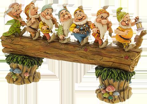 Enesco, LLC Seven Dwarfs Masterpiece Figurine