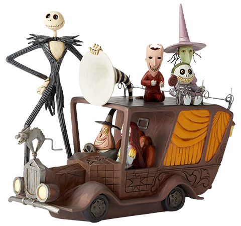 Enesco, LLC Nightmare Before Christmas Mayor Car Figurine