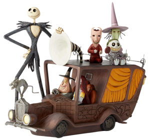 Nightmare Before Christmas Mayor Car Figurine