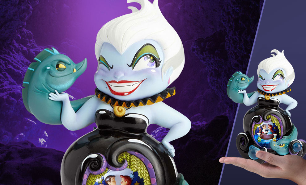 Gallery Feature Image of Miss Mindy Deluxe Ursula Figurine - Click to open image gallery