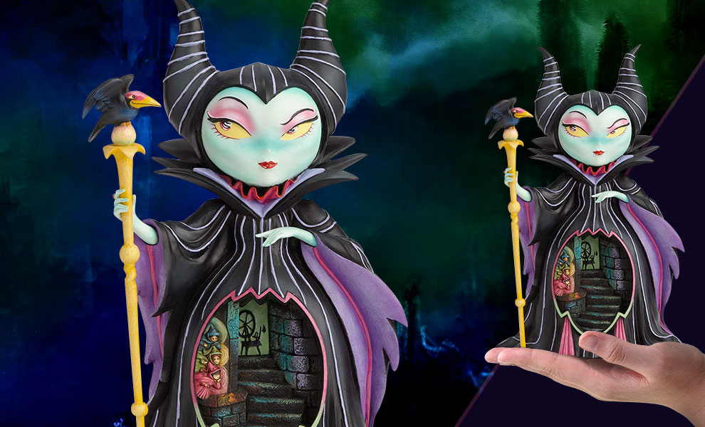 Gallery Feature Image of Miss Mindy Maleficent Figurine - Click to open image gallery
