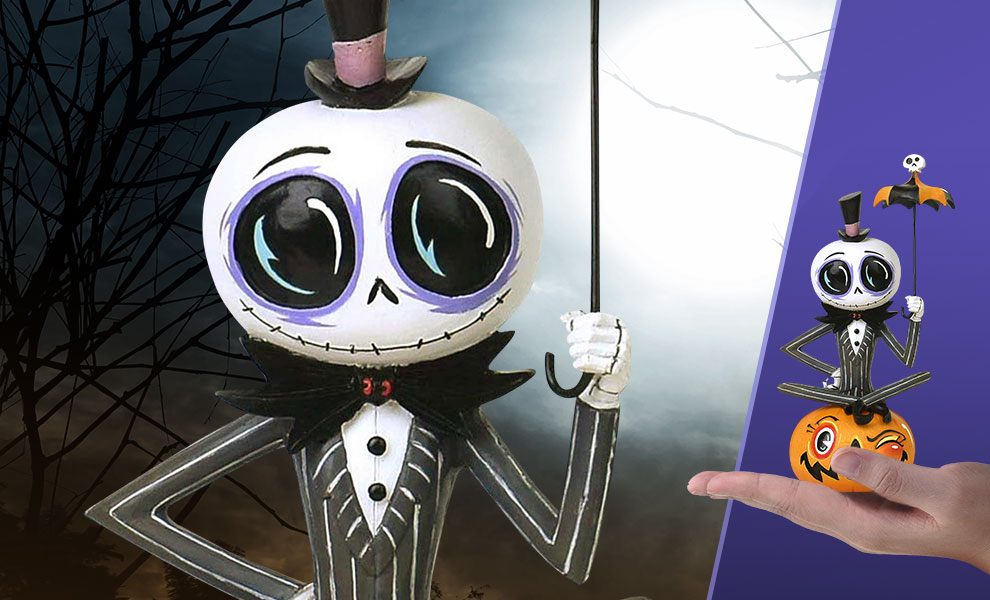 Gallery Feature Image of Miss Mindy Jack Skellington Figurine - Click to open image gallery